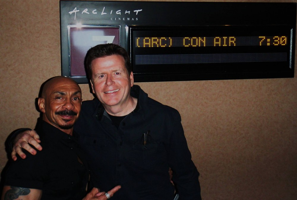 Ty and Con Air Director Simon West at Arclight
